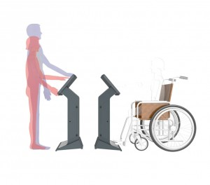Wheelchair and Standing Kiosk