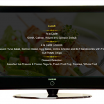 Menu on plasma tv ITLTV