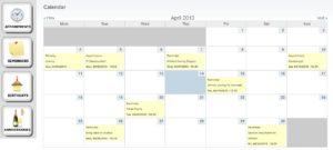 Custom calendars for seniors
