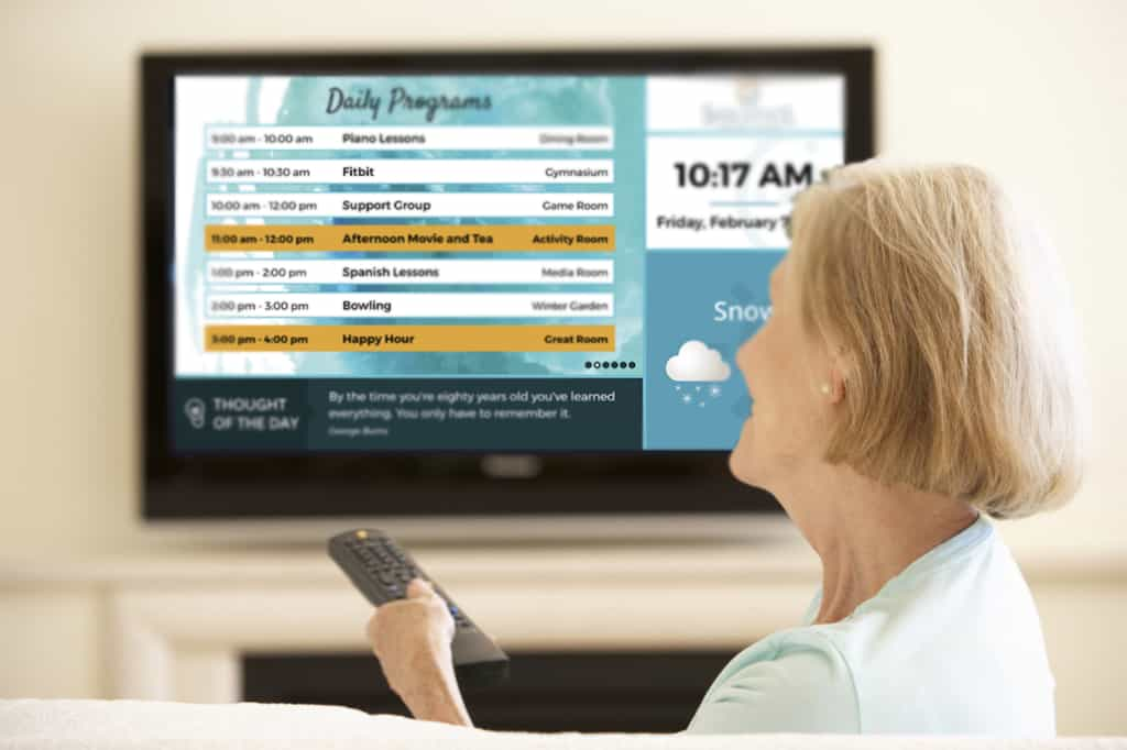 InTouchLink In-Room TV Channel