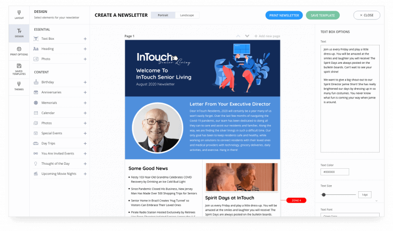 InTouchLink Newsletters
