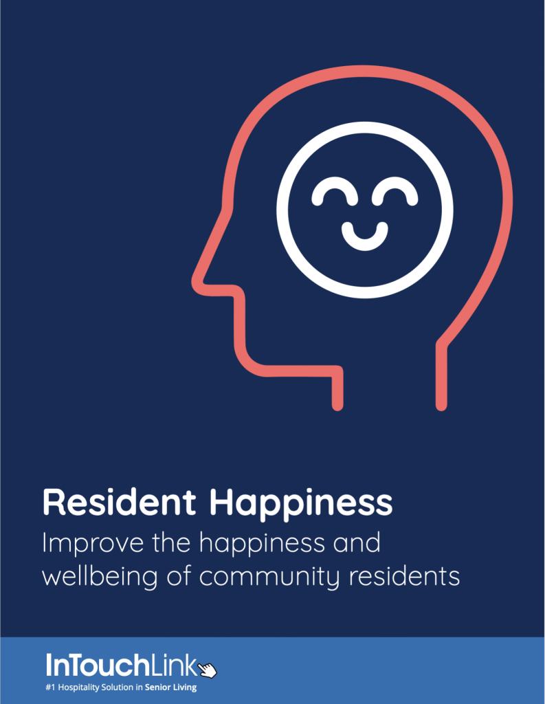 Cover of resident happiness whitepaper