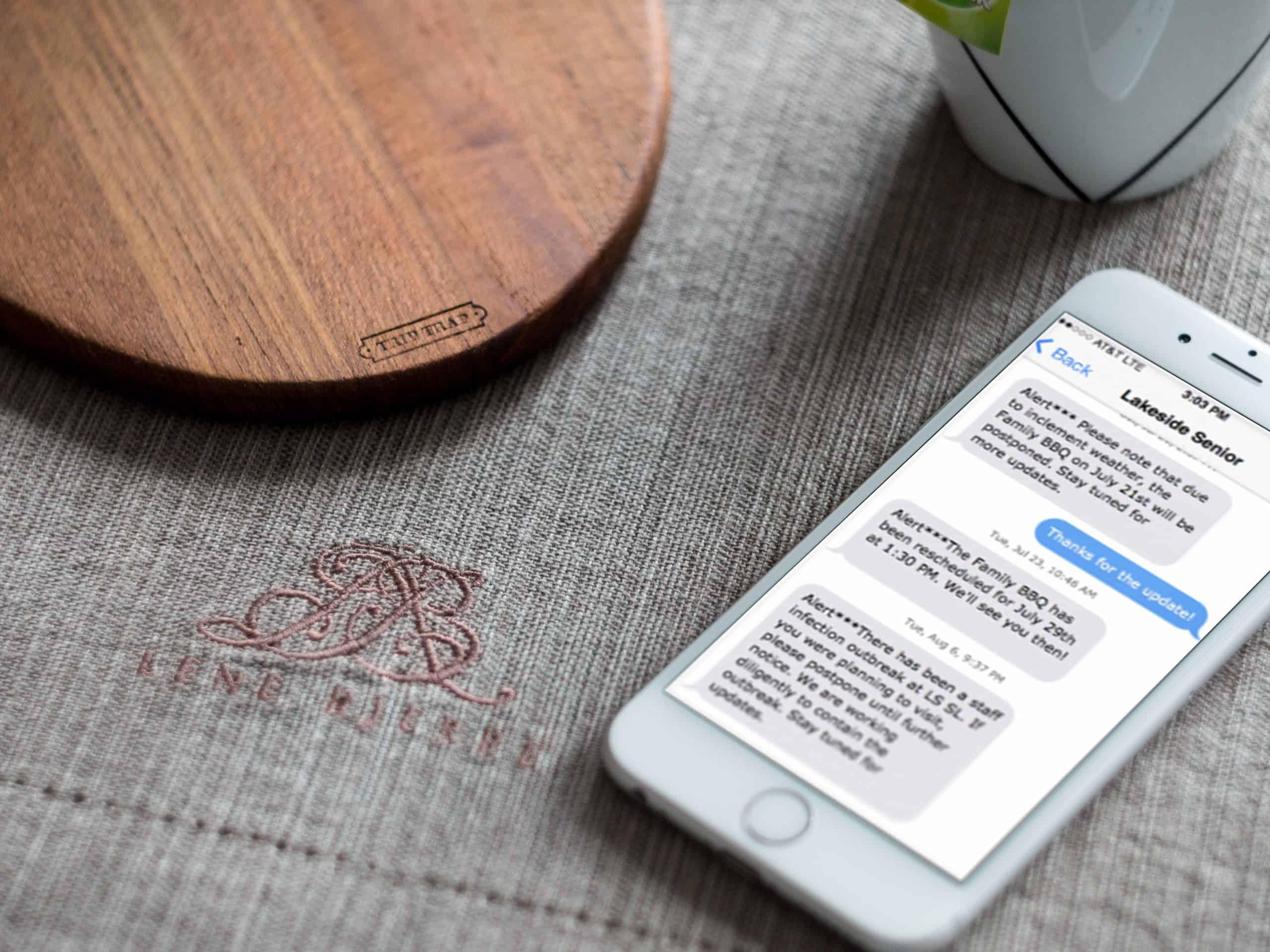 community message broadcast notification